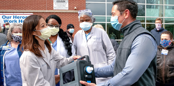 COVID-19: Learn how Ventec Life Systems is responding with the VOCSN  Multi-Function Ventilator | Ventec Life Systems