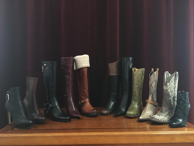 A boot for every occasion, with a few extra... just in case.